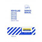 New Holland BR7060, BR7070, BR7080, BR7090 Service Manual
