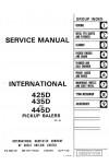 Case IH 435D, 445D Service Manual