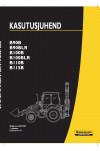 New Holland CE B100B, B100BLR, B110B, B115B, B90B, B90BLR Operator`s Manual