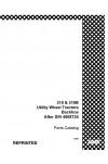 Case 310, 310B Parts Catalog