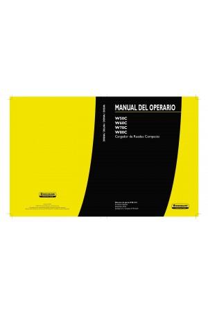 New Holland CE W50C, W60C, W70C, W80C Operator`s Manual