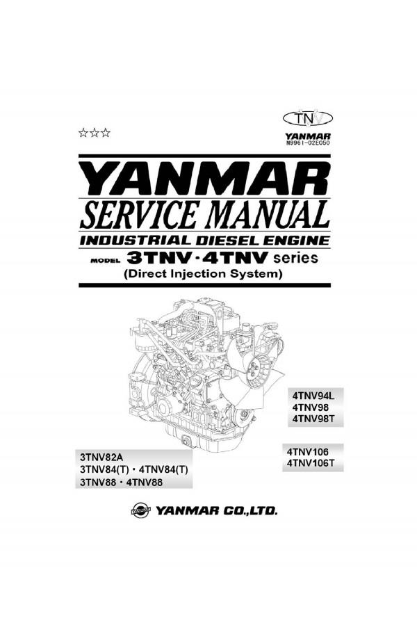 Daewoo Doosan ENGINE - YANMAR 3TNV, 4TNV Service Manual