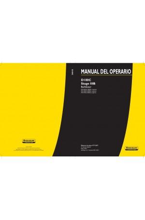 New Holland CE D180C Operator`s Manual