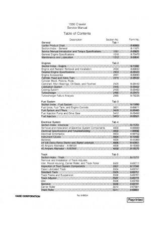 Case 1550 Service Manual