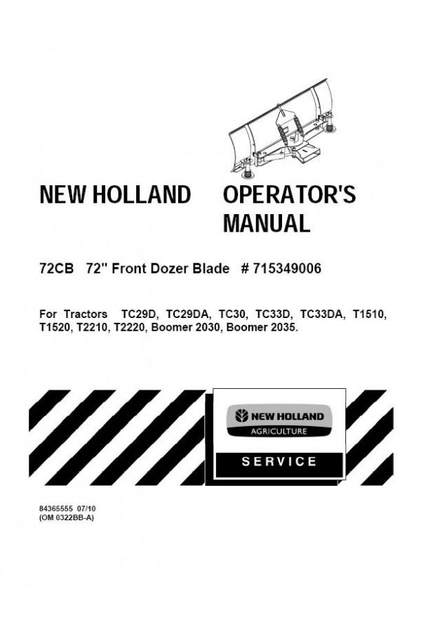 New Holland 2030, 2035, T1510, T1520, T2210, T2220, TC29D