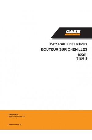 Case 1650L Parts Catalog
