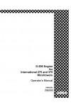 Case IH 275, 375 Operator`s Manual