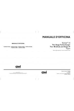New Holland CE F3DFE613F*B001, F3DFE613F*B002, F3DFE613G*B001, F3DFE613G*B002, F3DFE613J*B001, F3DFE613J*B002 Service Manual