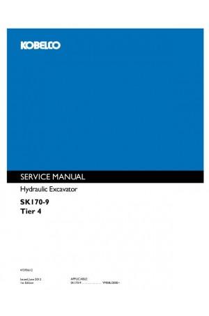 Kobelco SK170-9 Service Manual