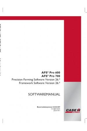 Case IH 600, 700, AFS Operator`s Manual