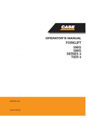 Case 586G, 588G Operator`s Manual