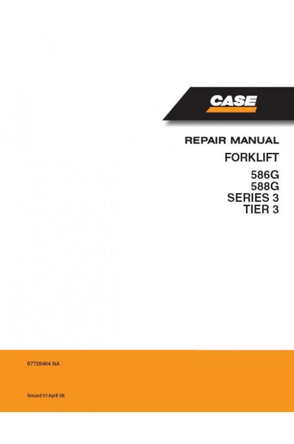 Case 586g  588g Service Manual