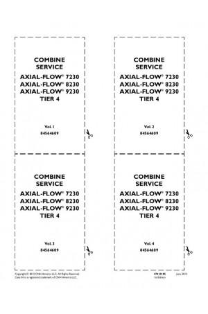 Case IH Axial-Flow 7230, Axial-Flow 8230, Axial-Flow 9230 Service Manual
