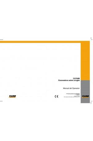 Case CX700B Operator`s Manual