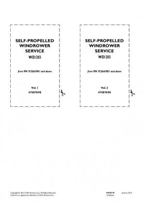 Case IH WD1203 Service Manual