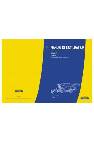 New Holland 760CG Operator`s Manual