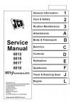 JCB 8013, 8015, 8017, 8018 Service Manual