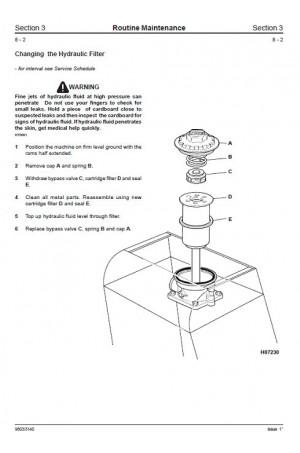 JCB 802, 802.4, 802 Super Service Manual