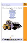 JCB 426 435 436 446 Service Manual