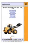 JCB 412S, 414S, 416S Service Manual