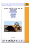 JCB 446 456 Service Manual