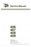JCB 406, 407, 408, 409 Service Manual