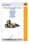 JCB 407B ZX, 408B Z, 410B ZX, 411B ZX Service Manual