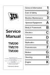 JCB TM200/270/300 Service Manual