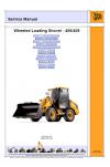 JCB 406, 409 WLS Tier 2/3 Deutz Service Manual