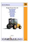 JCB RTFL 926 930 940, B Service Manual