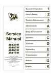 JCB JS130W, JS145W, JS160W, JS175W XO, AMS Machines Use Supplement 9803/6450 Service Manual