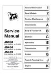 JCB JS330 Tier 2/JS450 XO/JS460XO Service Manual