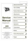 JCB  JS AMS Supplement  Service Manual
