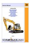 JCB JZ 140 Tier 2 Service Manual