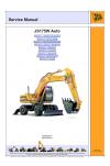 JCB JS157W XO Auto  Service Manual