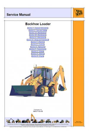 JCB 210S, 212S, 210SL Service Manual