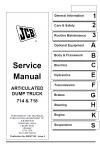 JCB 714 718 ADT Service Manual