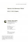Cummins Cummins India 4B 3.9/6B 5.9 Service Manual