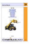 JCB 527-58 [Engine: JCB Tier 3 (SD, SF), JCB Tier 4 (SL, SJ)] Service Manual
