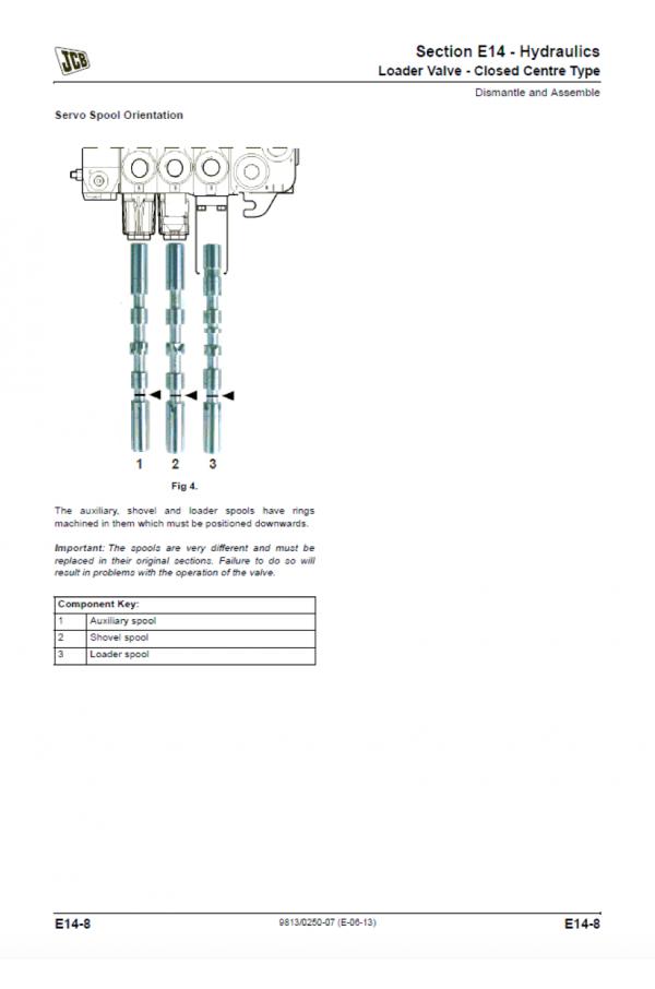 JCB JCB 3CX, 4CX, 5CX Service Manual