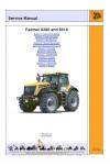 JCB Fastrac 8280 and 8310 Service Manual