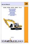 JCB JS240, 260, 330, 360 Isuzu Engine Tier 4 Service Manual
