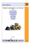 JCB 427, 437, 457 T4i Service Manual