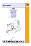 JCB 8061 (Chine built) Service Manual