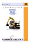JCB JS115, JS130, JS145, JS160, JS180, JS190 Service Manual