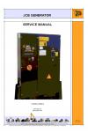 JCB Generator Control Panels Service Manual