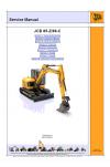 JCB 85Z-1, 86C-1 Service Manual