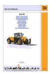 JCB 525-60 Service Manual