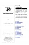JCB 1THT Hydrostatic Service Manual
