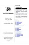 JCB 2TFT, 2THS, 2TST, 3.5TST, 3TFT, 3TST Service Manual